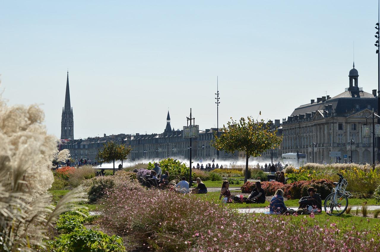 De kade van Bordeaux