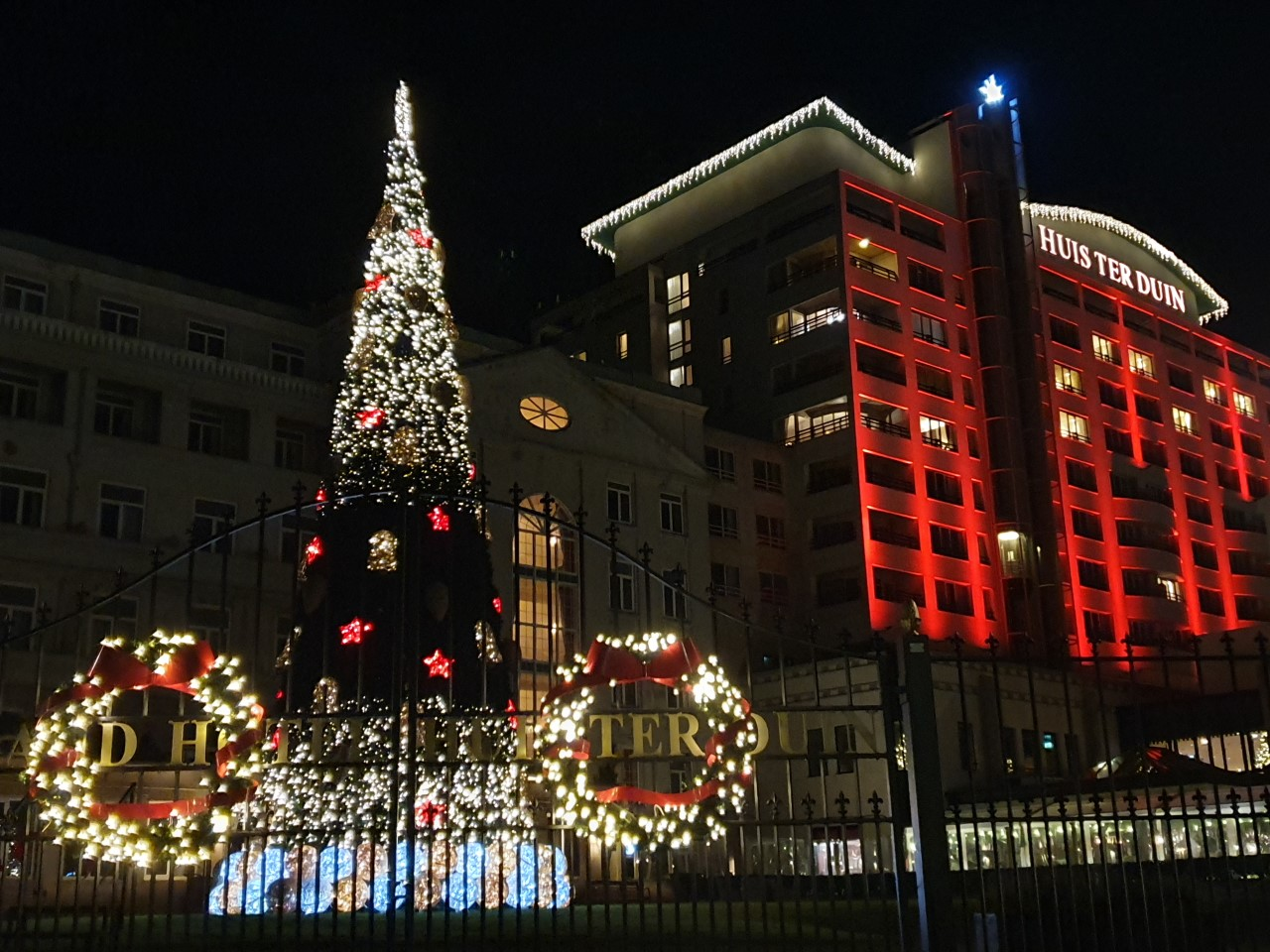 Kerst aan zee Noordwijk
