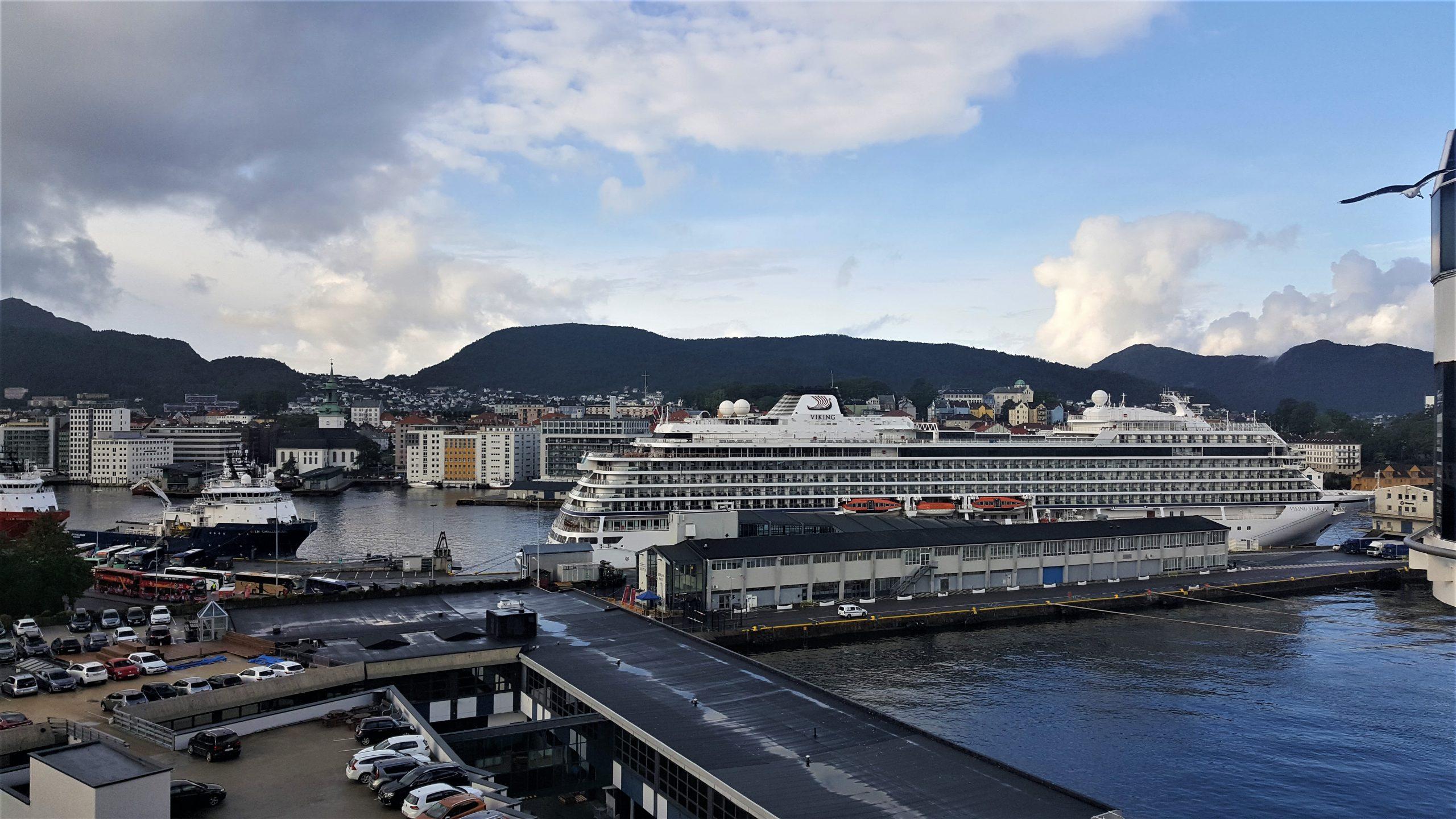Cruise Bergen Noorwegen