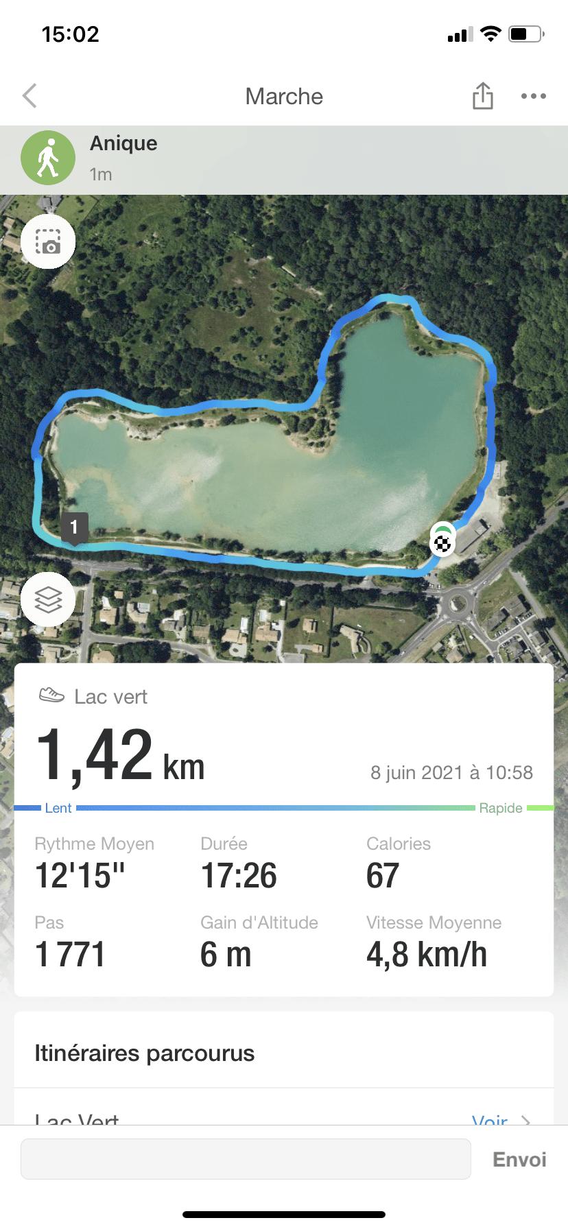 Wandeling Lac Vert