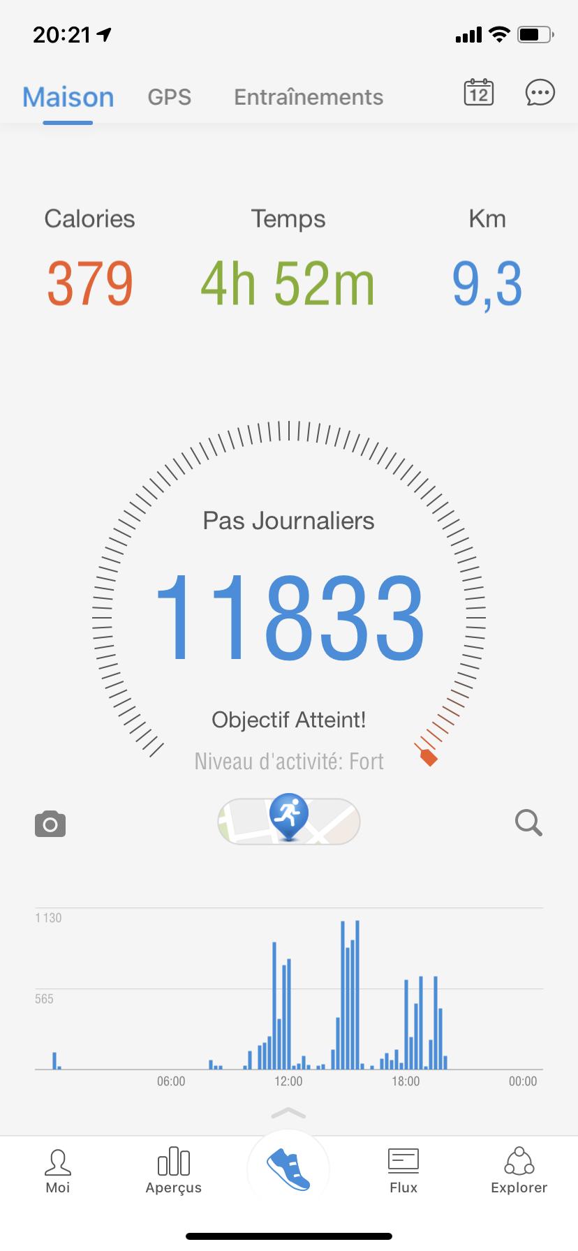 Pacer wandelapp stappenteller app